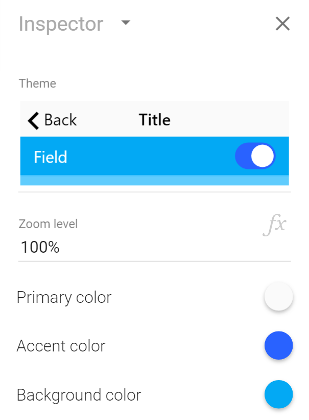 Setting app-wide colors