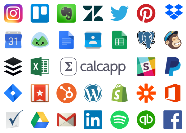 All the services you can use with Calcapp